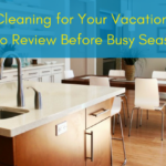 spring cleaning vacation rental