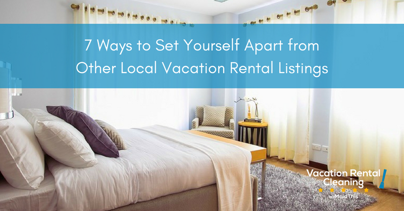 set apart vacation rental listing