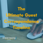 airbnb correspondence timeline