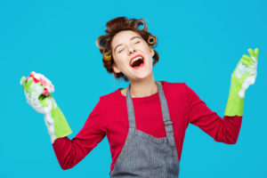Cleaning service Torrance - music makes cleaning easier