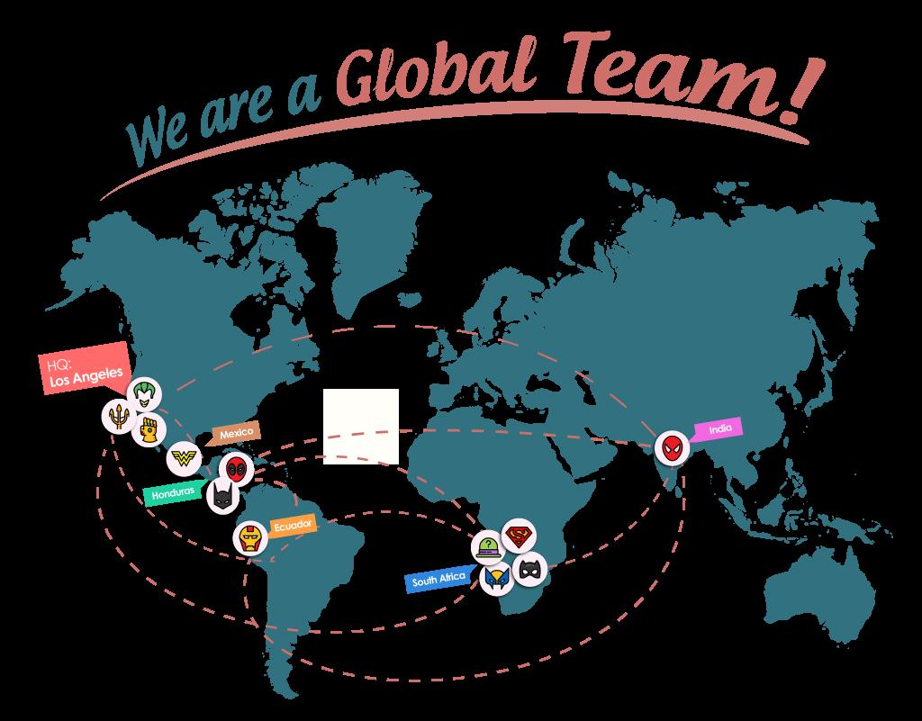 MaidThis Operations Team around the world
