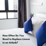 replace linens airbnb vacation rental