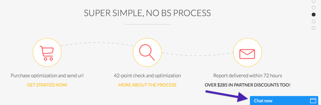 Simple process at OptimizeMyAirbnb.com