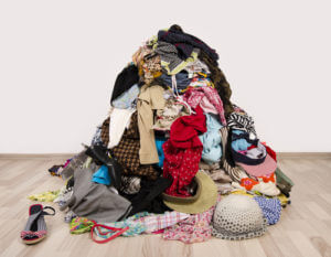 Pile of Clothes - Maid Service Orange County