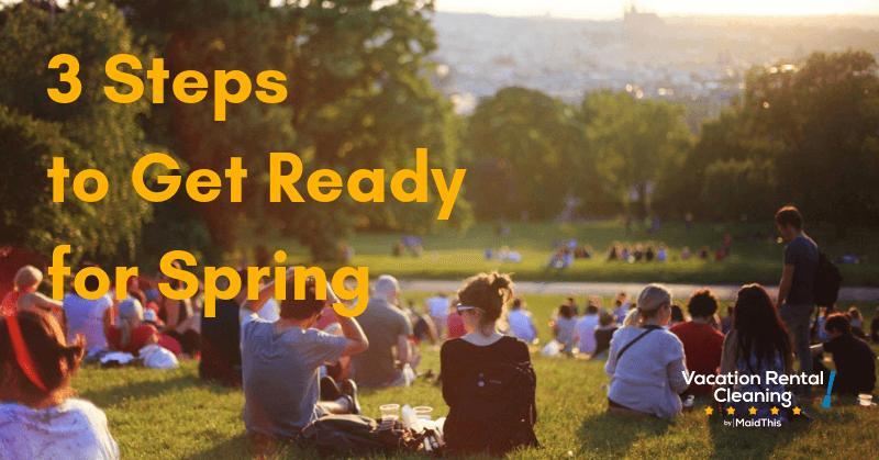 airbnb spring preparation
