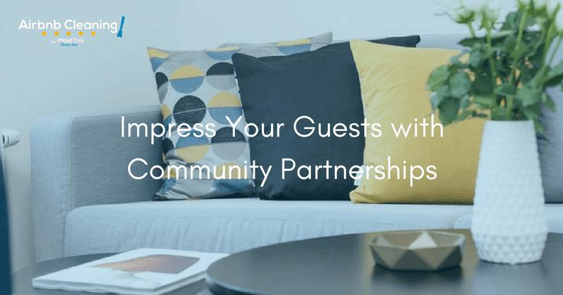 airbnb community partnerships