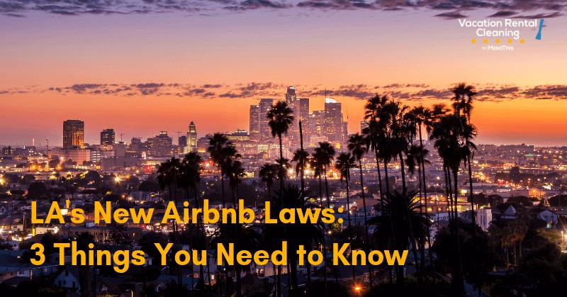los angeles airbnb law la