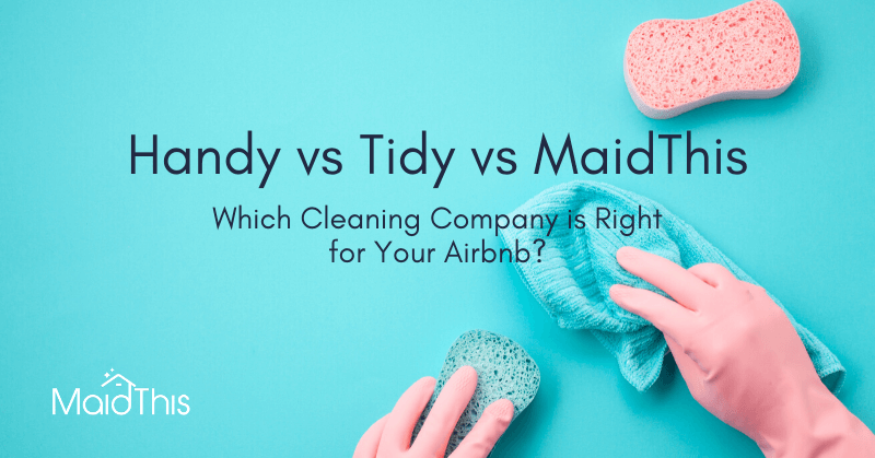 handy vs tidy airbnb cleaning