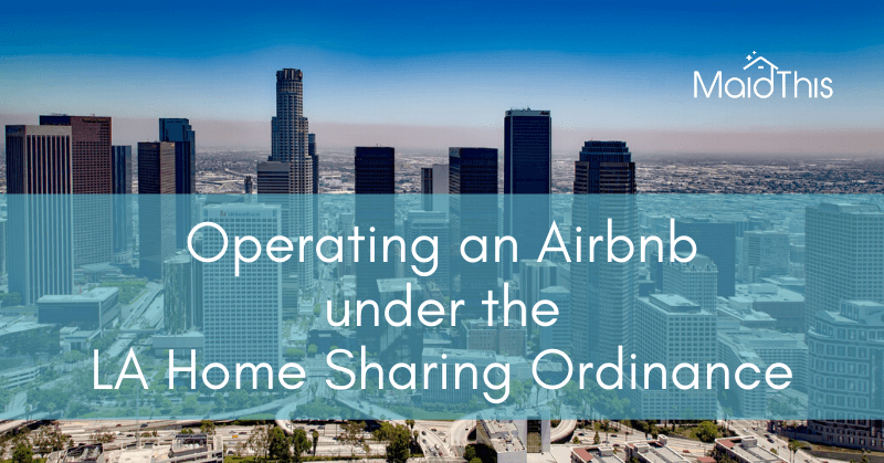 la home sharing ordinance 2020