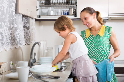 How do you teach your kids to clean