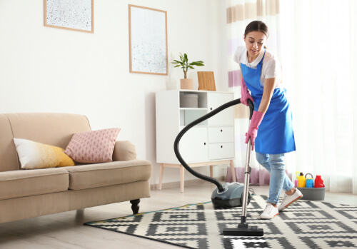 What should Airbnb hosts focus on while cleaning their property