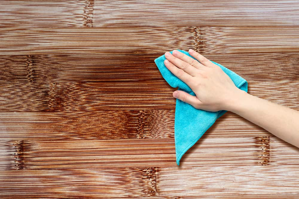 What is the best thing to clean wood with